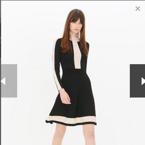 💥FLASH⚡️SALE Sandro Daisy Contrast Trim Dress
